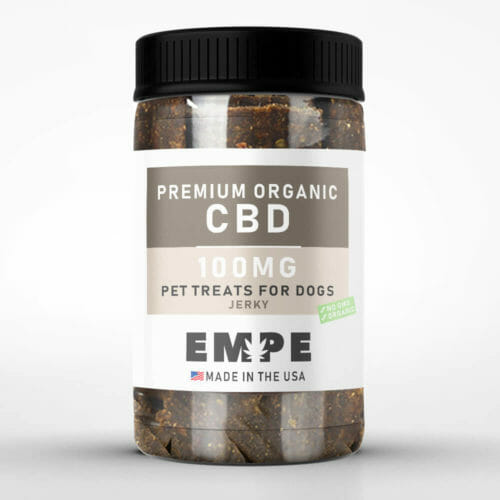 Organic CBD Treats for dogs Jerky
