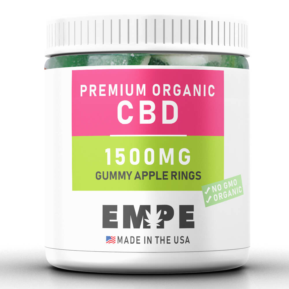 Cbd Gummy Apple Rings 1500mg