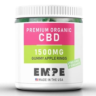 CBD Gummy Apple Rings 1500 mg