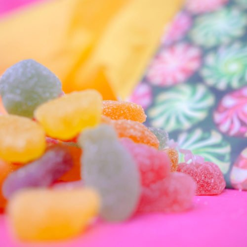Bonbons au CDB Vegans - Sliced Fruits