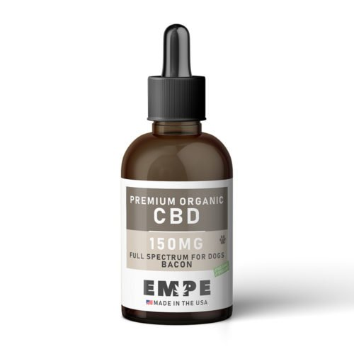 FULL SPECTRUM TINCTURE FOR PET DOGS 150MG - BACON - PREMIUM ORGANIC HEMP CBD