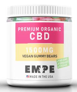 Bonbons au CBD Vegans - Oursons - Cbd Gummies Organic, GMO-Free
