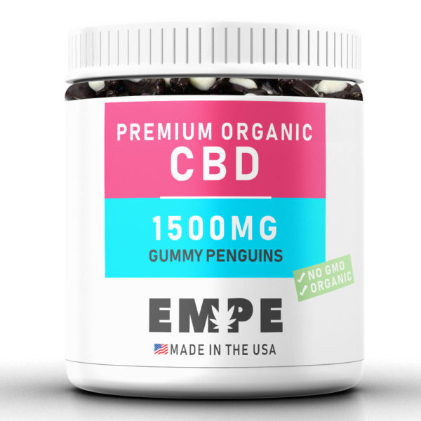 GUMMY PENGUINS 1500MG - PREMIUM ORGANIC HEMP CBD