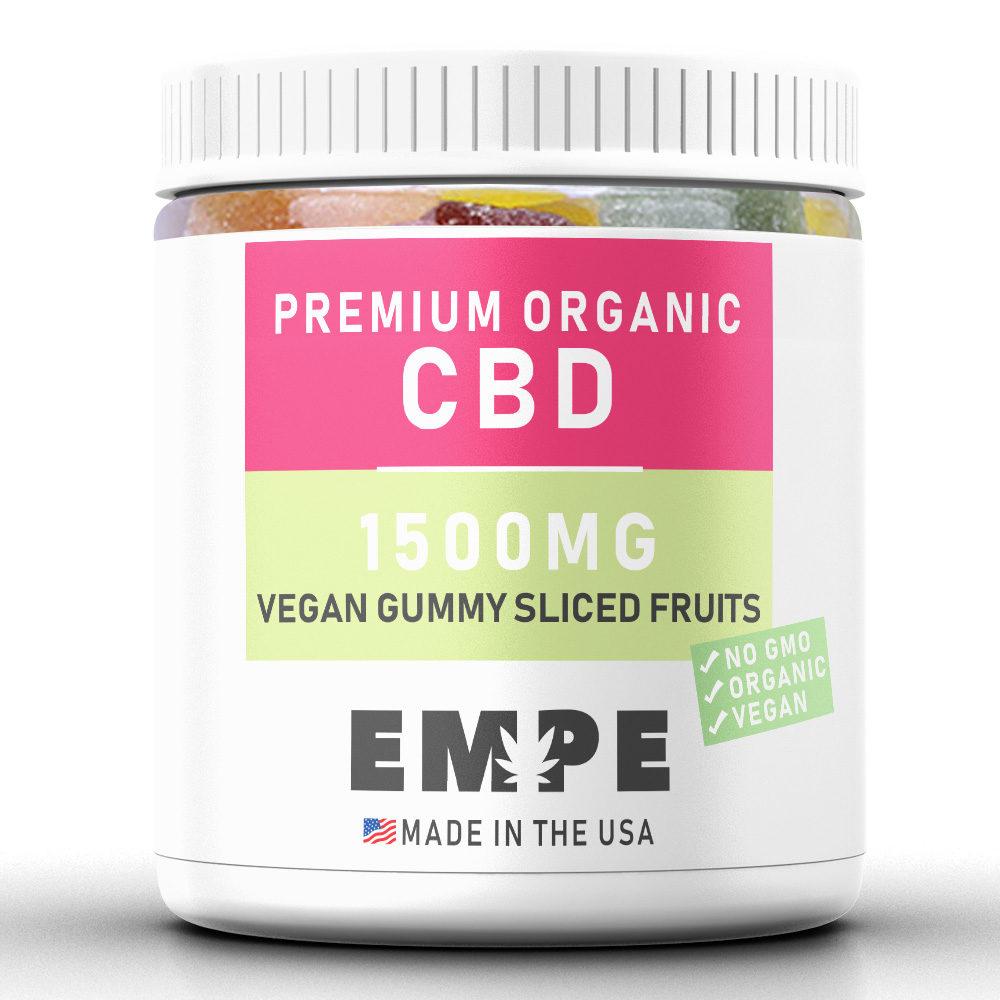 Cbd Vegan Gummy Sliced Fruits - 1500mg