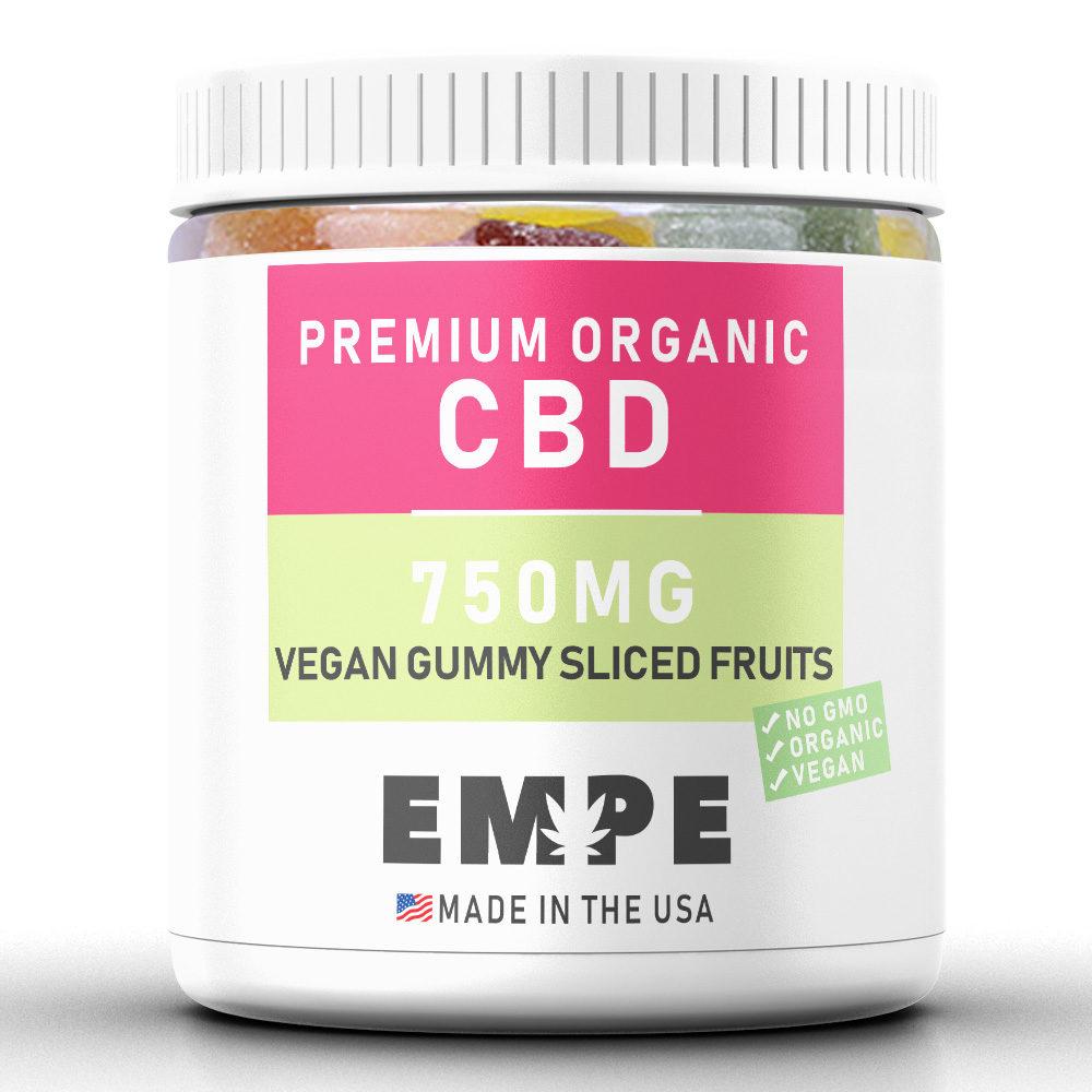 Cbd Vegan Gummy Sliced Fruits - 750mg