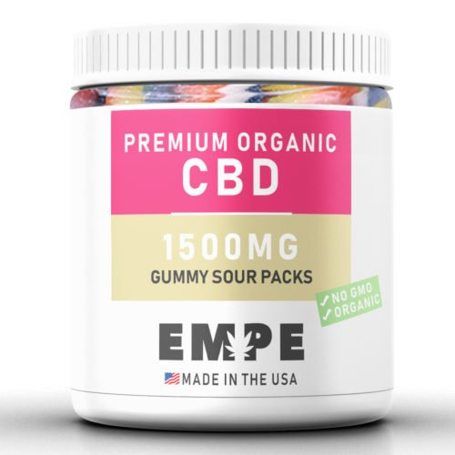bonbons cbd - sour packs 1500mg