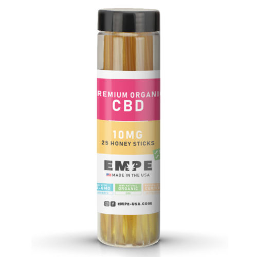 honey sticks CBD organic