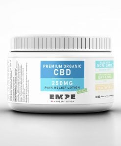 Organic cbd pain relief cream and lotion