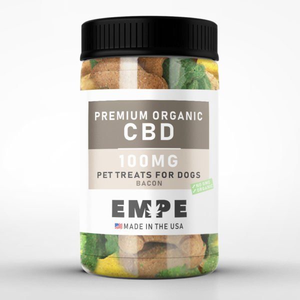 PET TREATS BONES 100MG - PREMIUM ORGANIC HEMP CBD