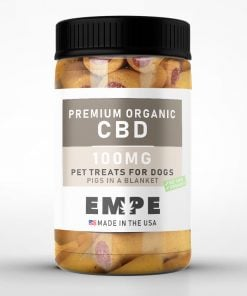 Organic CBD Treats for dogs Pigs in a blanket