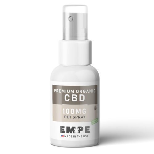 Organic CBD spray for dogs