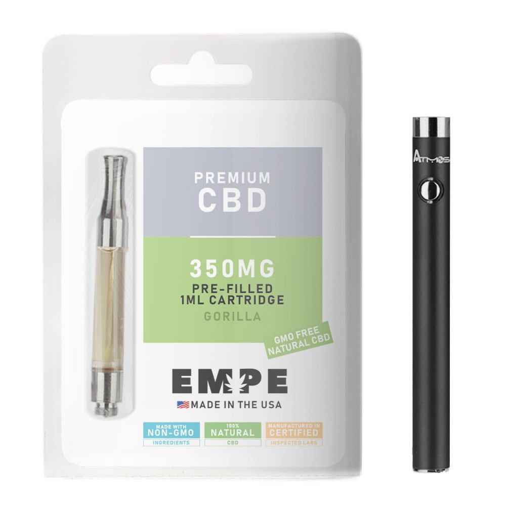 cbd cartridges - gorilla flavor 350mg