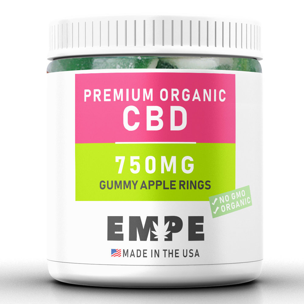 Bonbons au CBD - Apple Rings - 750mg