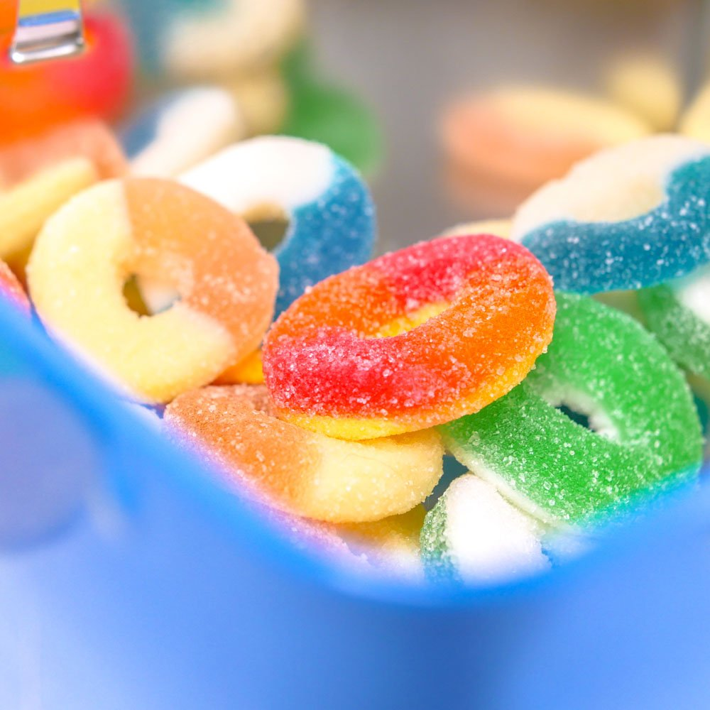 Bonbons a l'huile de Chanvre - Mixed Rings