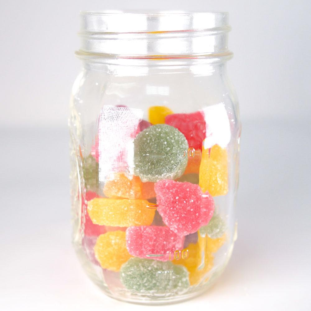 Bonbons au CDB Vegans - Sliced Fruits