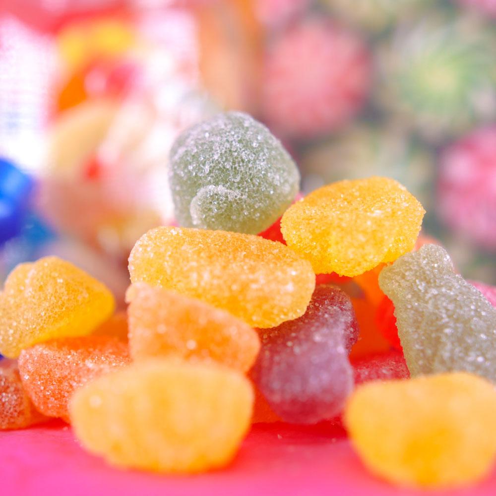 Bonbons au CBD Fruit Slices