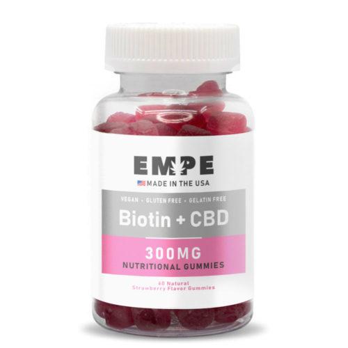 CBD nutritional gummies Biotin