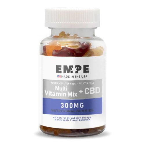 CBD NUTRITIONAL GUMMY MULTIVITAMIN MIX