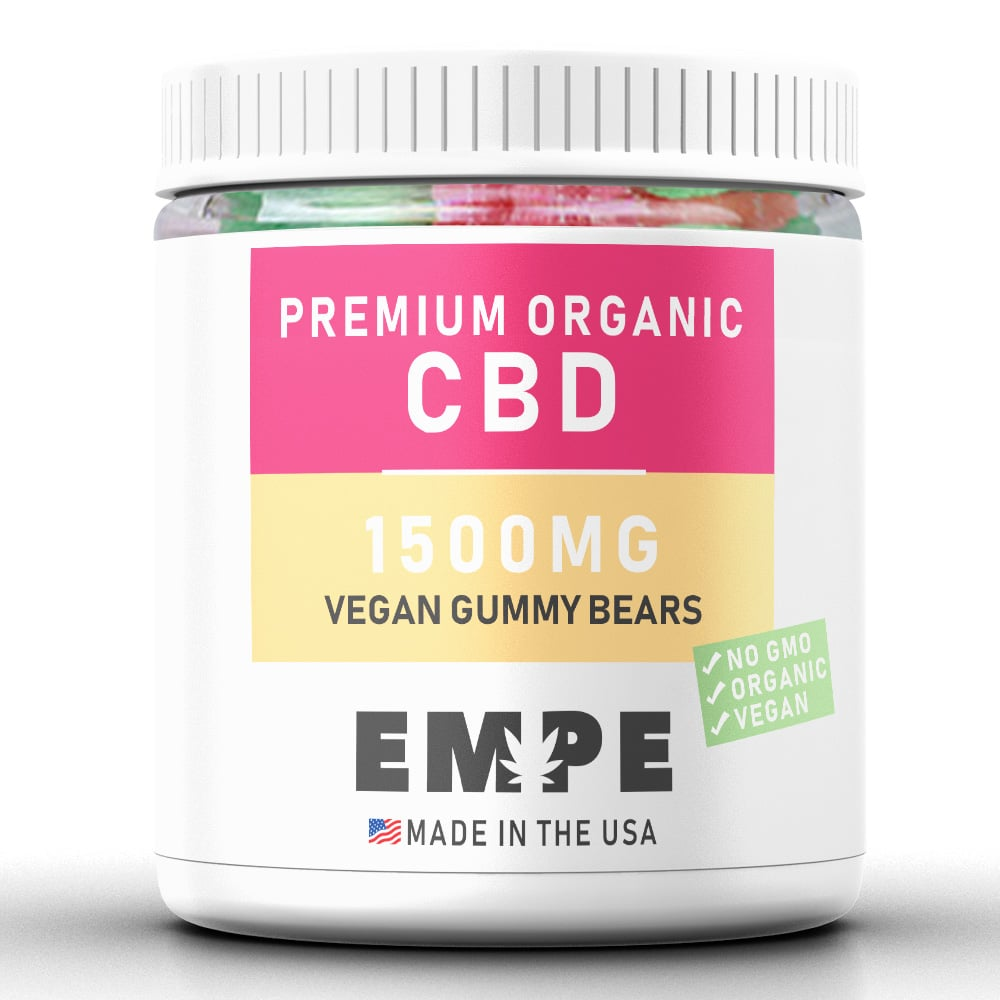 Cbd Vegan Gummy Bears