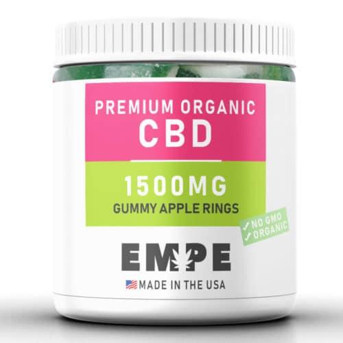 Cbd Gummy Apple Rings