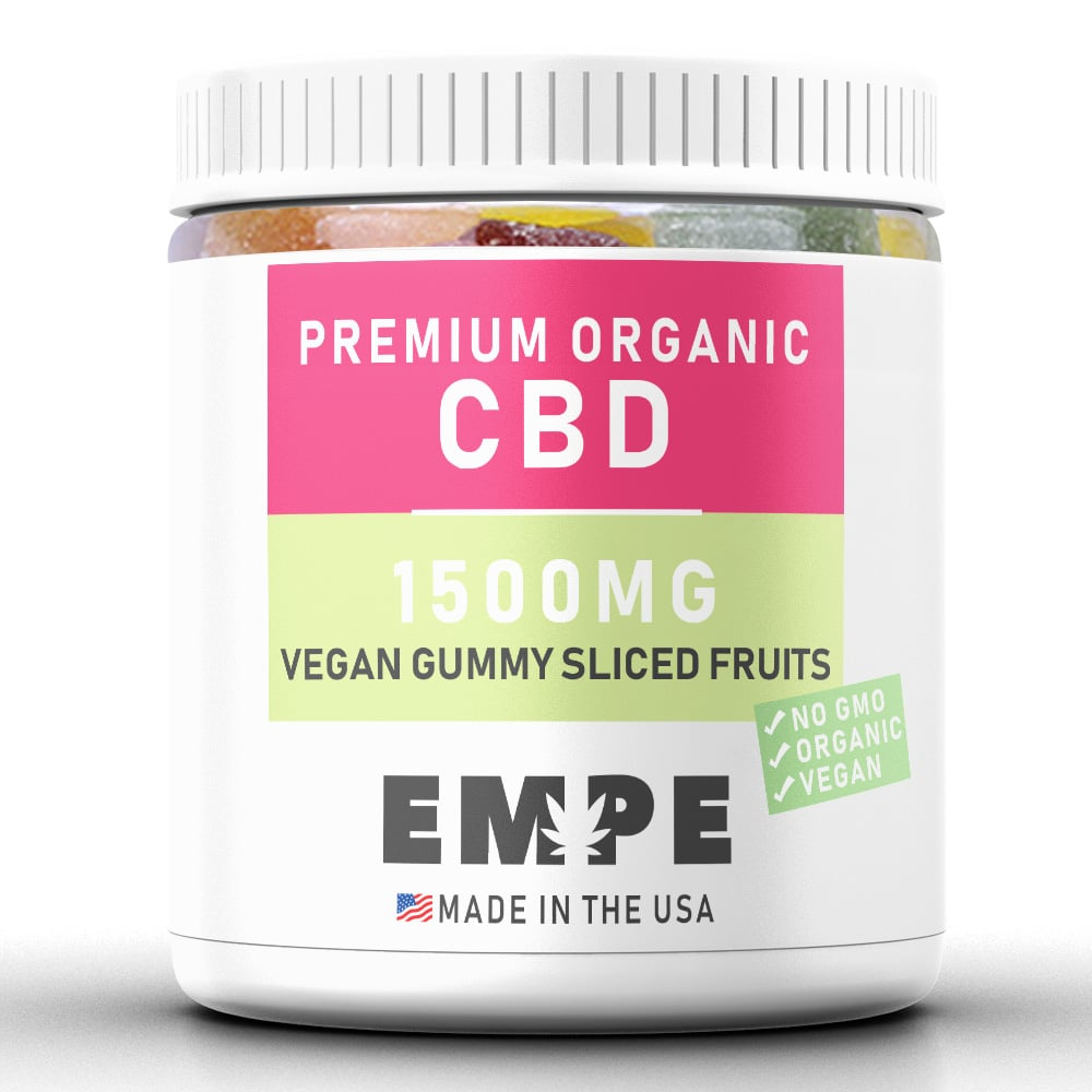 Cbd Vegan Gummy Sliced Fruits
