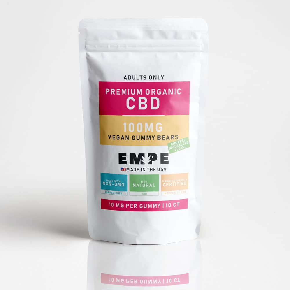 Cbd Vegan Gummy Bears - 10 Gummies