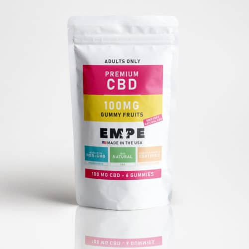 Cbd Gummy Fruits - 6 Gummies