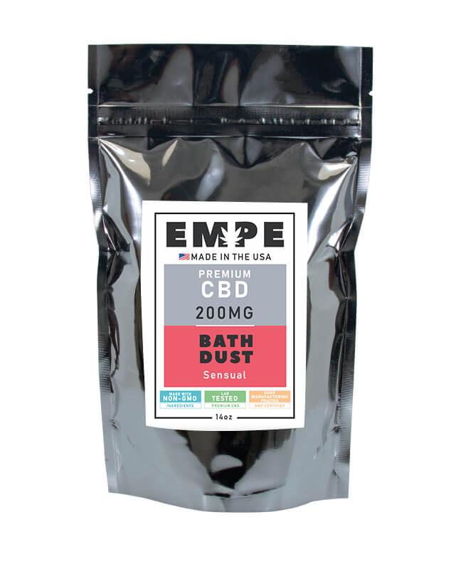 CBD Bath Dust Front Sensual
